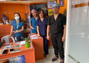 Our Dental Team Thank you A&A Tailoring and Dress Shop for making our scrubs…